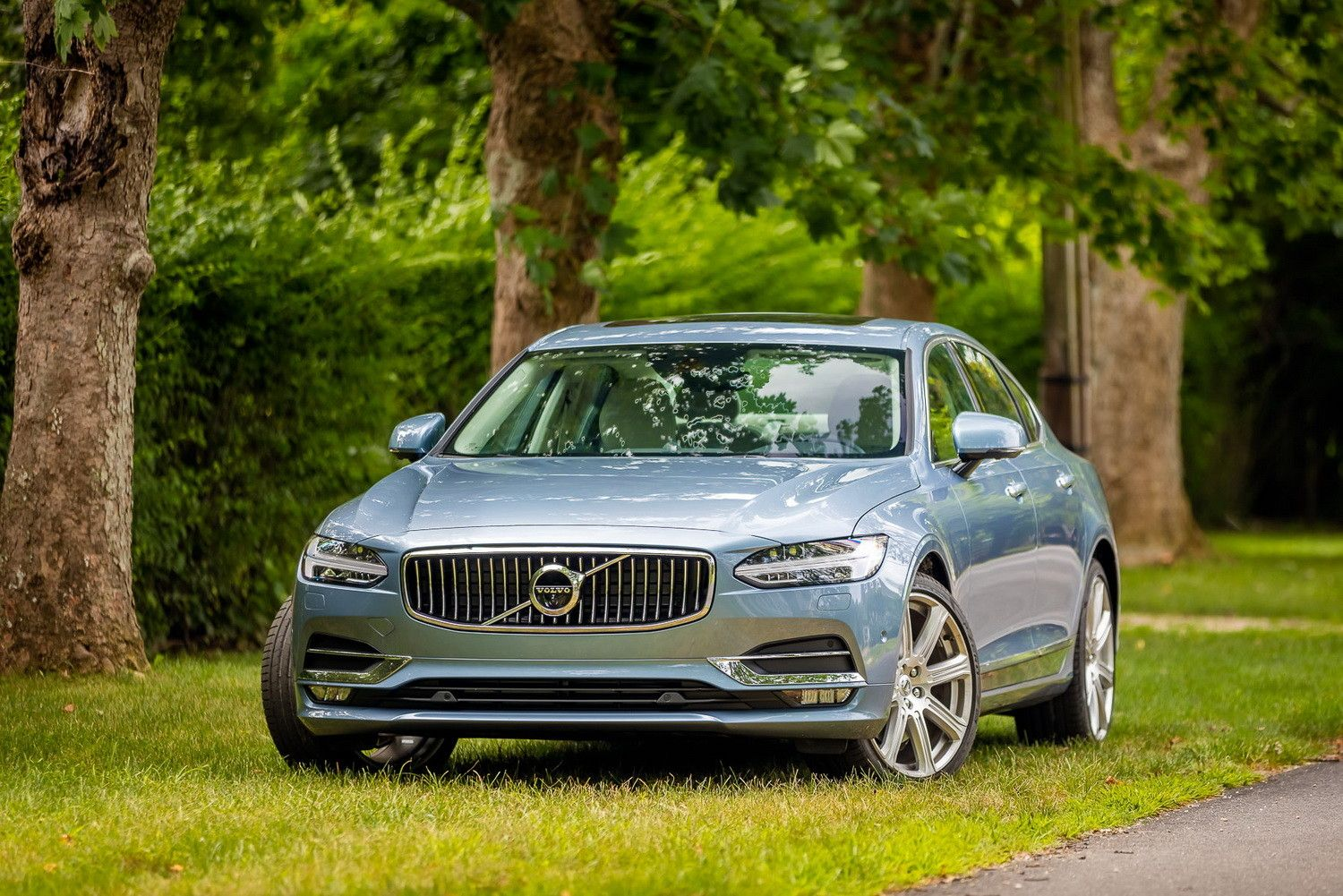 Safe, luxurious, and packed with tech, Volvo's S90 is a