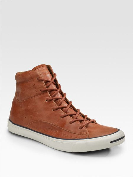 Men s Brown Jack Purcell Racearound High-tops  845e36d6c4d5