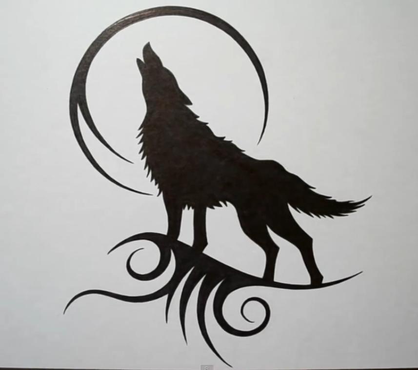 Desenho Lobo By Alline Menezes On Wolf Inkit Tattoo