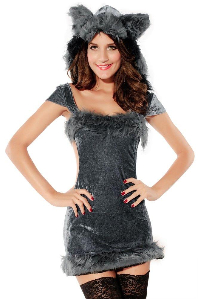 3 piece naughty raccoon animal costume - Halloween Naughty Costumes