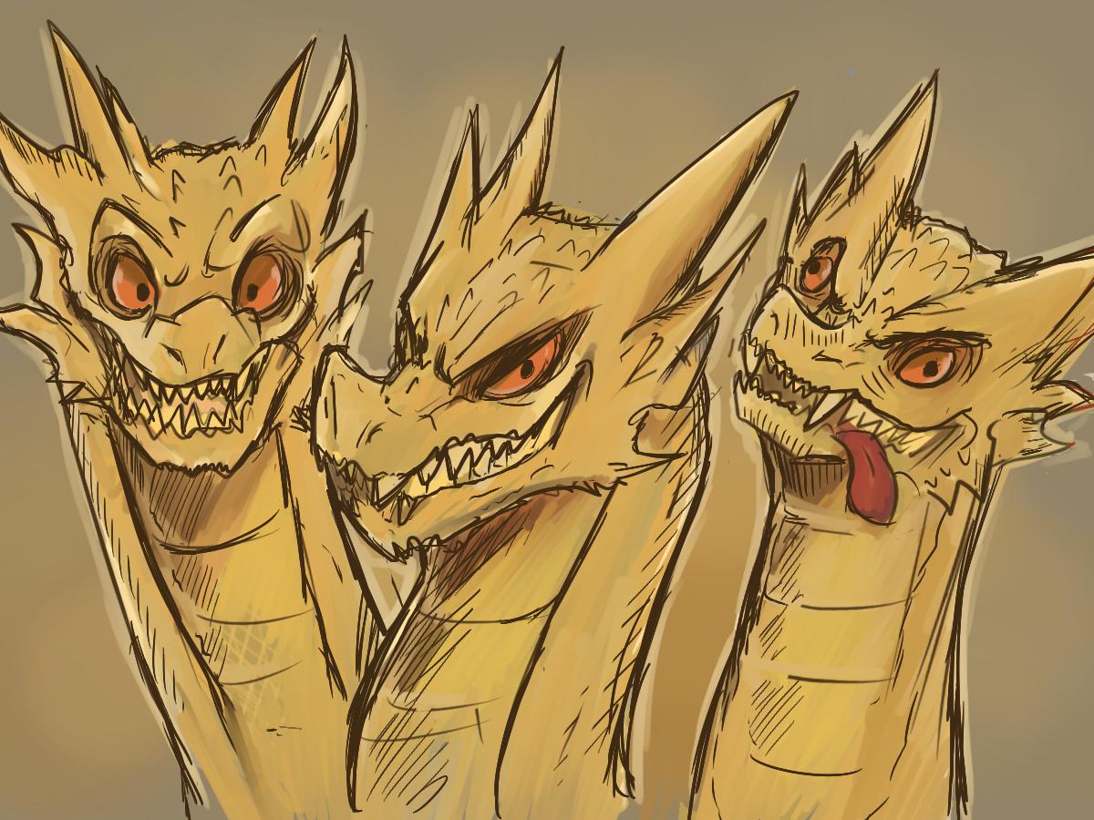 King Ghidorah   Godzilla
