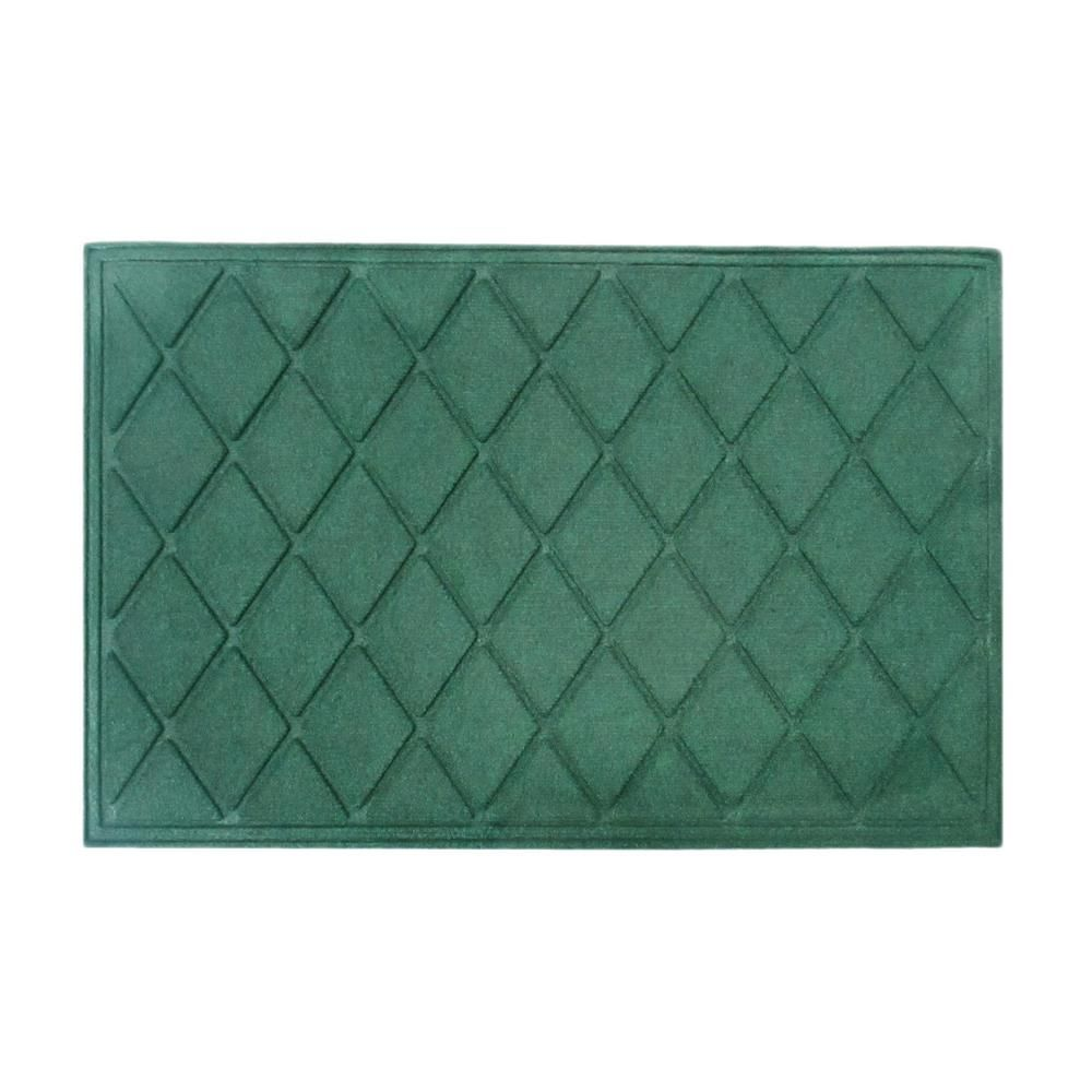 A1 HOME COLLECTIONS A1HC Diamond Green 24 in. x 36 in. Eco
