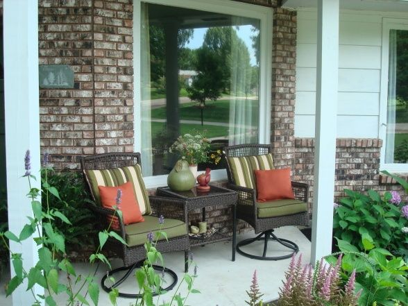 Small Front Porches Decorating