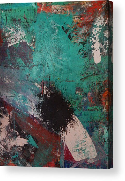 Angst Acrylic Print By Will Birdwell Oil Painting Abstract Wood Print Canvas Prints