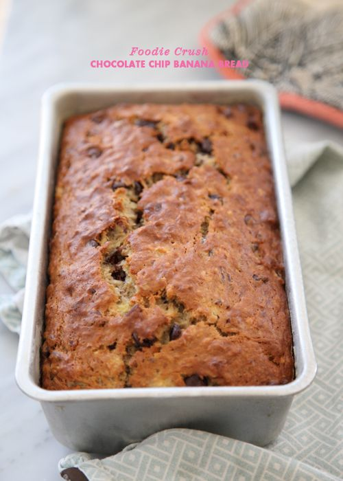 Victoriamy favorite kind of caked no need to use a food chocolate chip banana bread plus sweet banana recipe roundup foodiecrush forumfinder Image collections