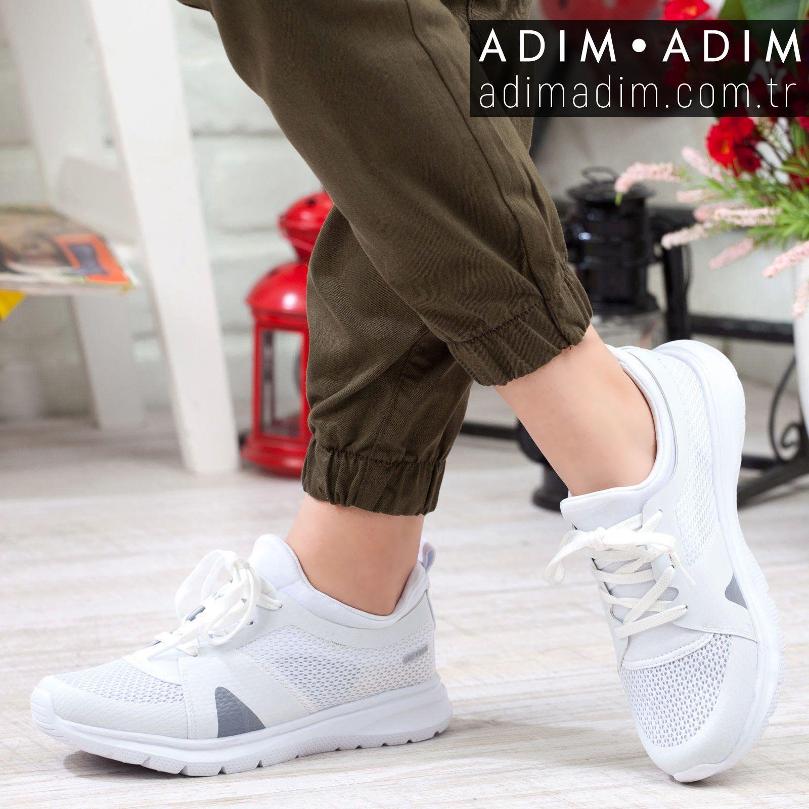 Greyder Kadin Gunluk Spor Ayakkabi Fiyat 219 99 Tl Numara 36 40 Renk Beyaz Urun Kodu A192ygry0002 Whatsap Sneaker Ayakkabilar Spor