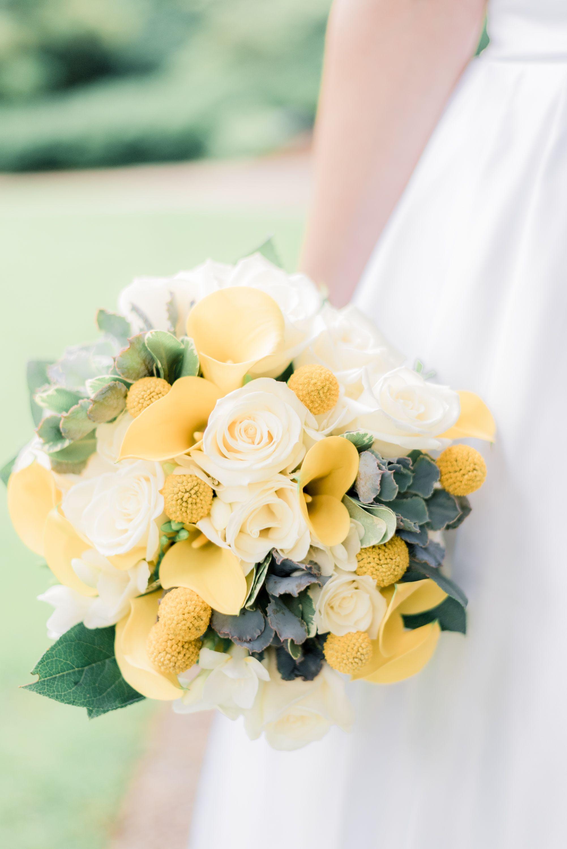 Yellow Wedding Bouquet Yellow Wedding Wedding Color Scheme