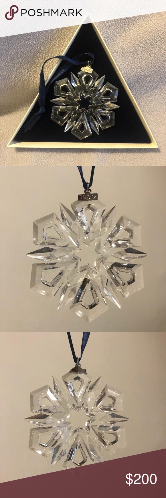 1999 Swarovski Crystal Christmas Ornament | Swarovski ...