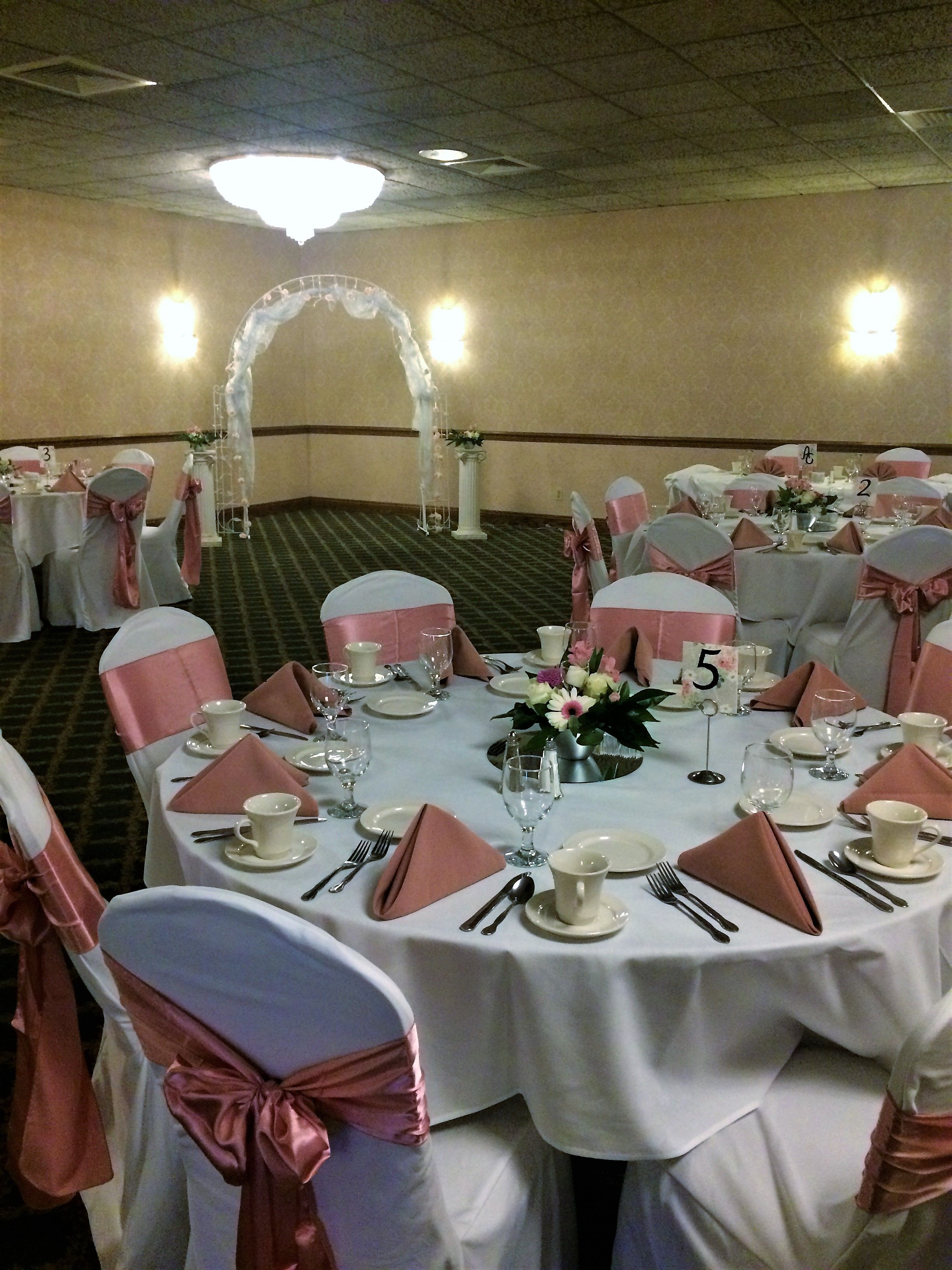 Ceremony And Reception All In One Topaz Room At Our Cleveland