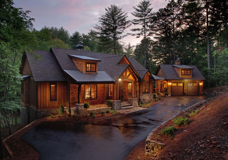 Plan 24111BG Splendid Mountain Home Plan Cheap log cabins Log