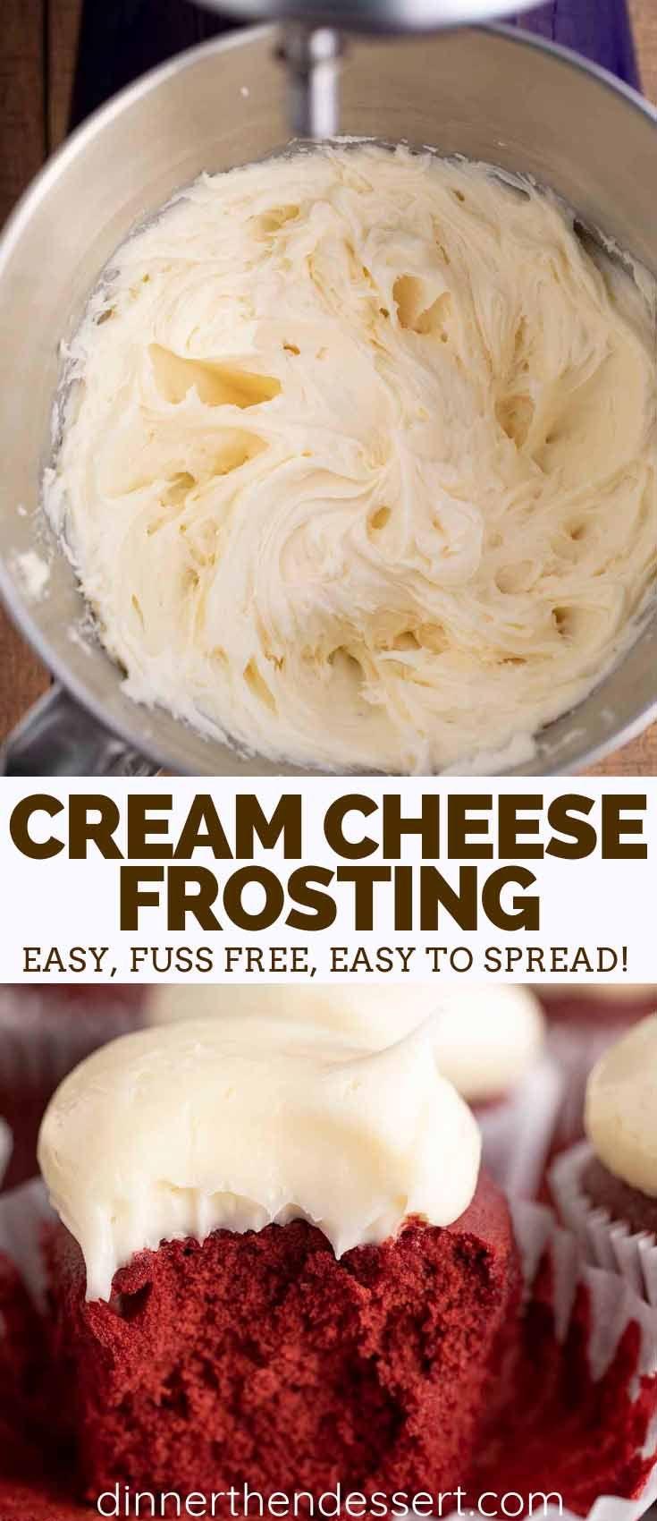 Cream Cheese Frosting - Dinner, then Dessert