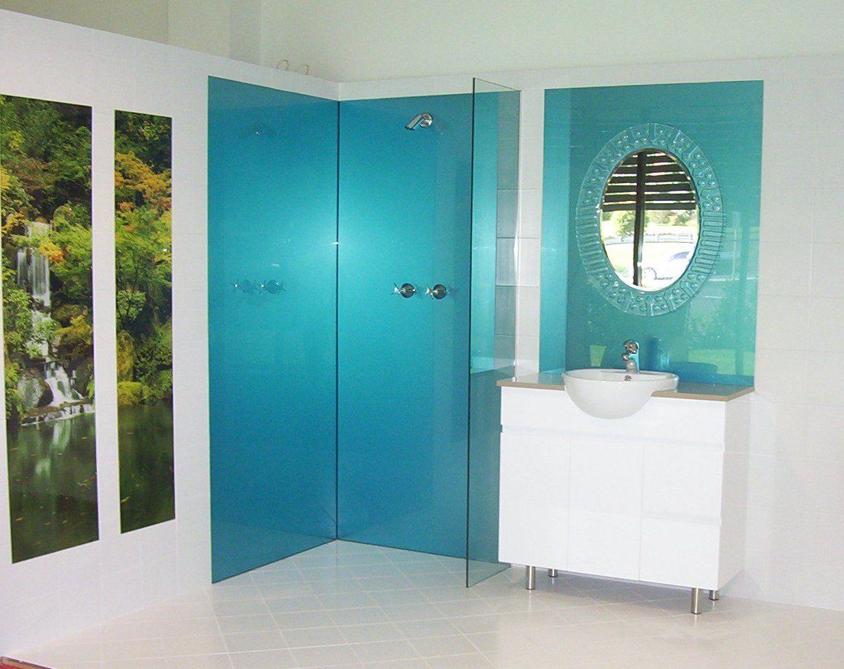 Acrylic shower wall panels