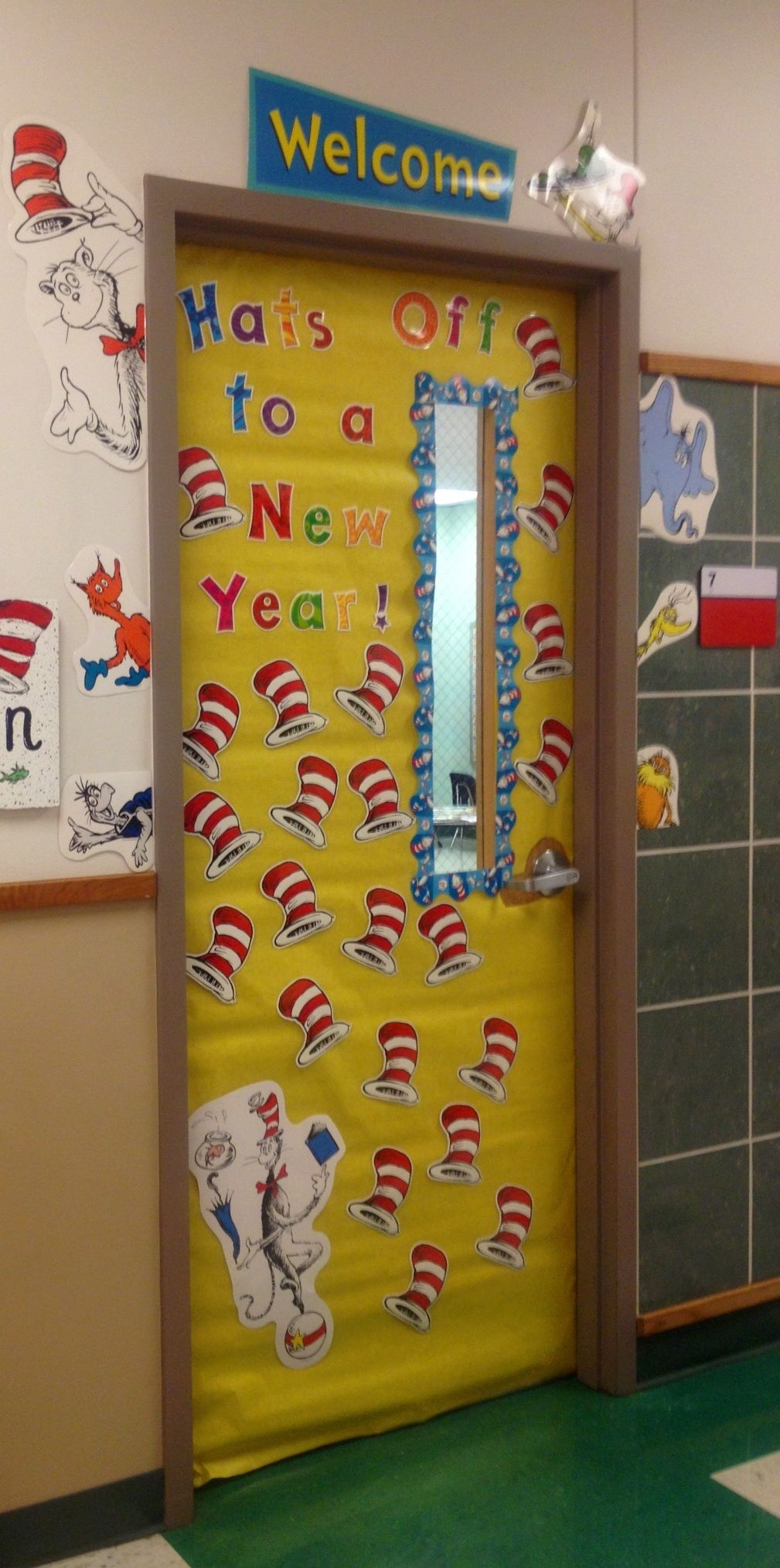 My door for the beginning of the new school year. I have a ...