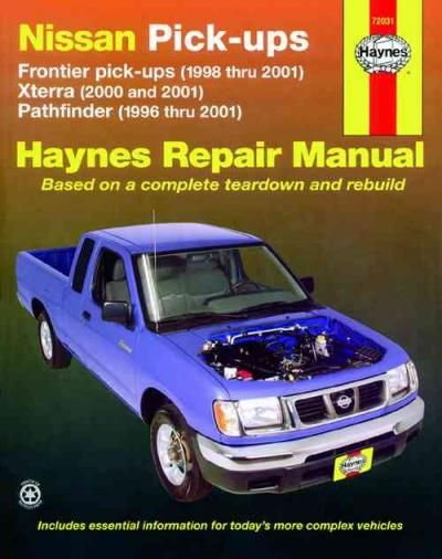 2001 pathfinder service manual