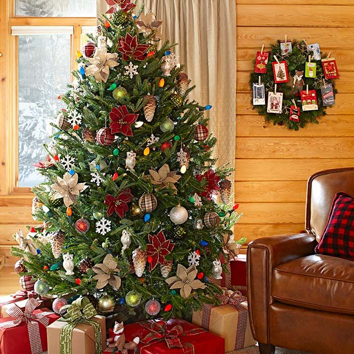 Christmas Tree Decorating Ideas Multicolor Lights: Trim The Perfect Christmas Tree You Brought Home With