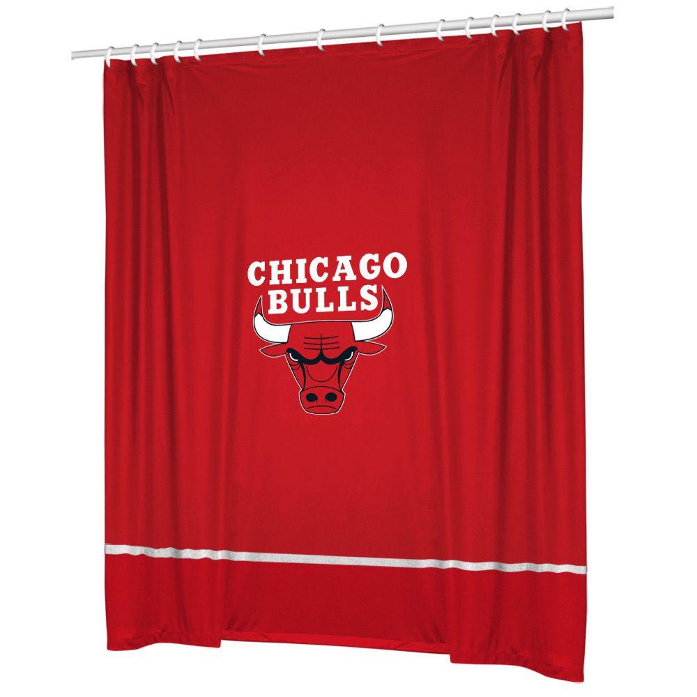 Chicago Bulls Shower Curtain Chicago Bulls Bathroom Shower