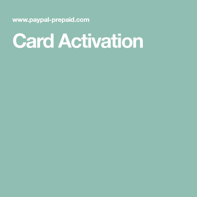 Paypal Prepaid Com