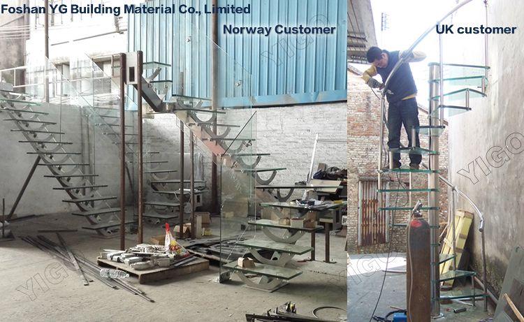 exterior metal staircase prices. glass staircase price / used metal stairs/ indoor stairs made in china exterior prices w