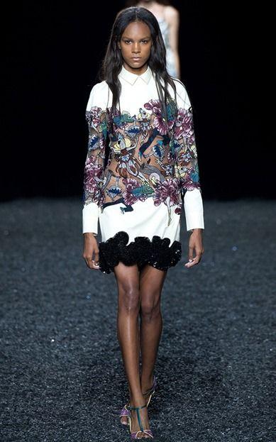 Mary Katrantzou Spring 2015 – Runway #marykatrantzou #fashion #runway #nyfw