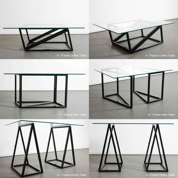 Industrial Coffee Table London: A-Frame Table Is Perfect For Small Space Living