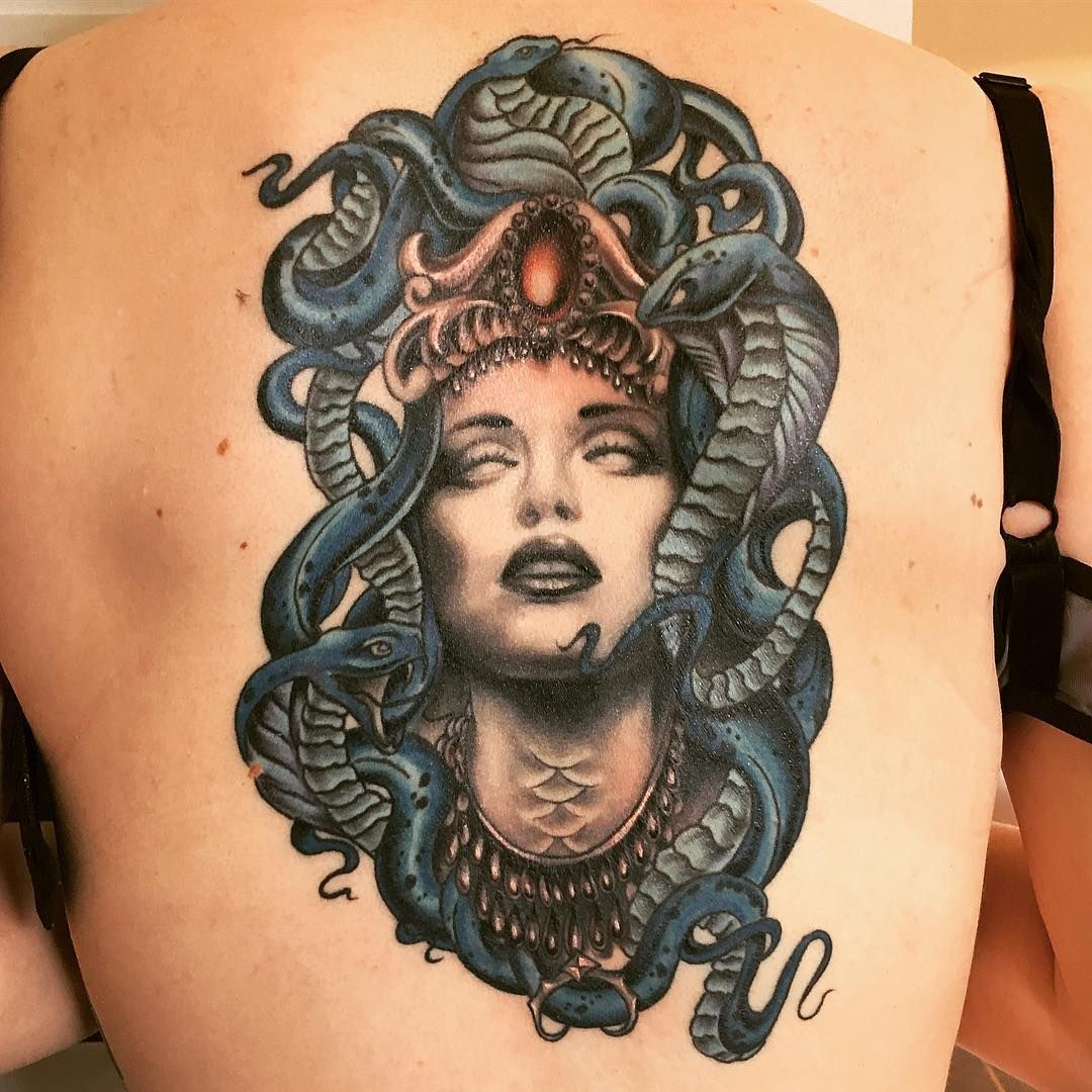 Medusa Tattoo Meaning: 25 Medusa Tattoo Design Ideas With Meaning