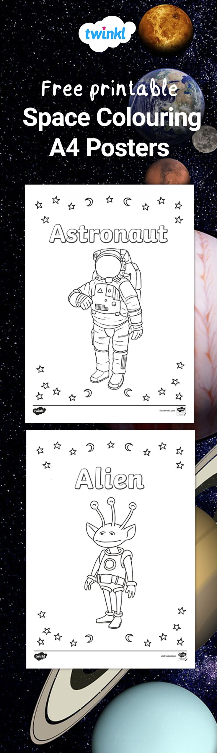 This handy set of colouring sheets gives your children the ...