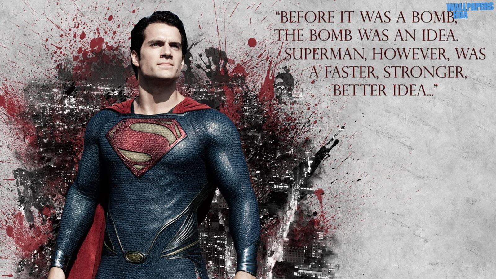 Superman 4 Wallpaper 1600x900 July 24, 2016 Posted by Wallpapers HDa