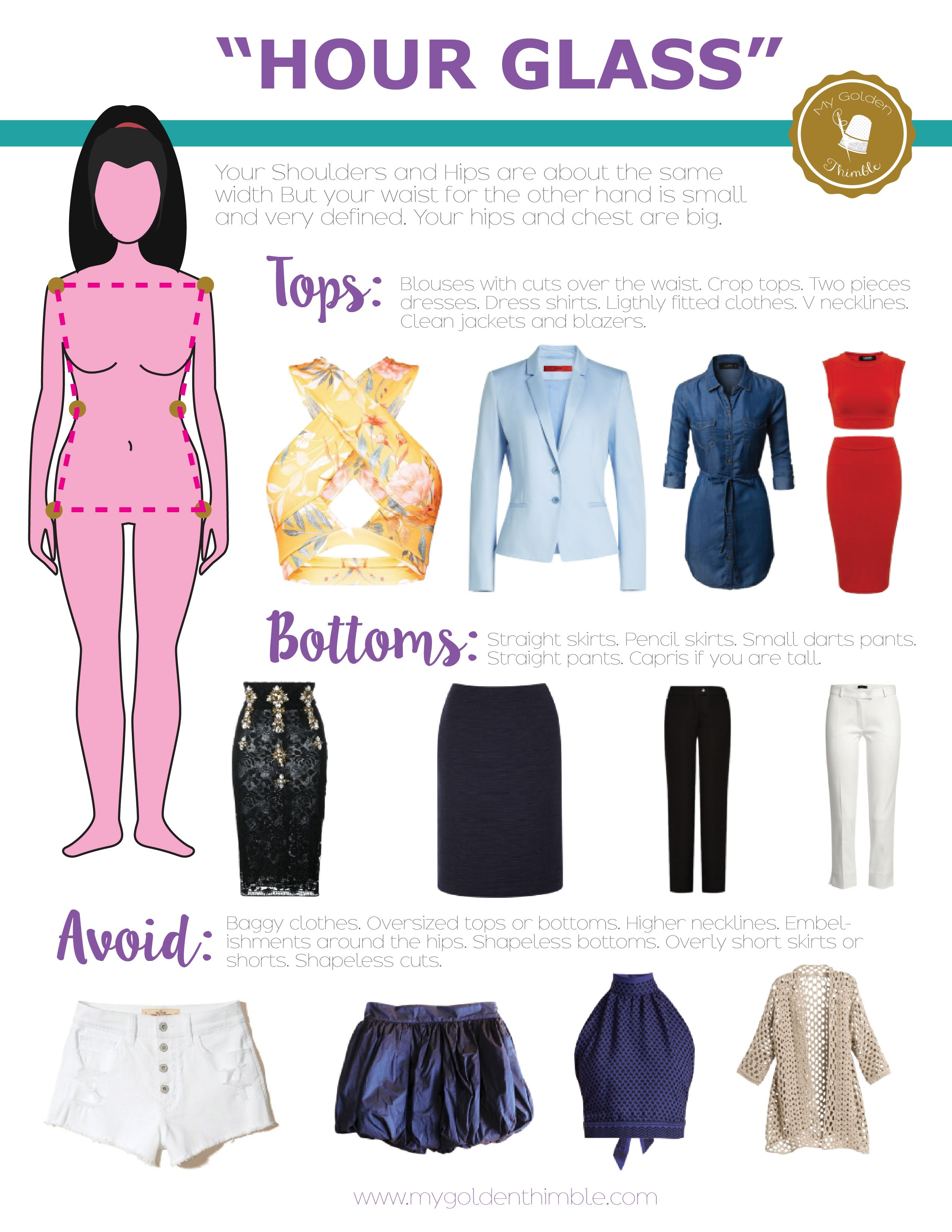 What Is My Body Shape Dress Accordingly To It Hourglass