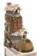 shoe gingerbread house