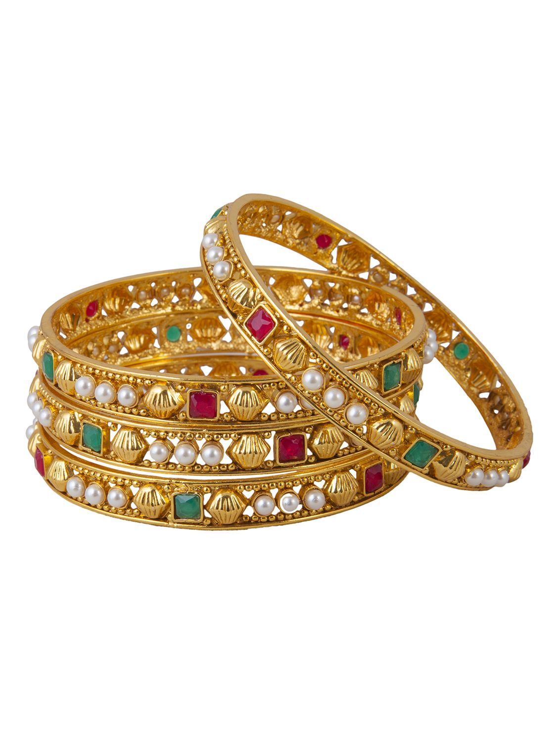 Buy Kada online, Latest Kada by Inaya   latest Bracelets and Bangles Shopping online at http://www.craftsvilla.com/catalog/product/view/id/3848682/s/kada only at 669