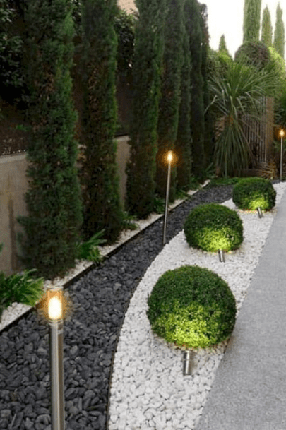 25 Simple And Modern Garden Design Front Yard Landscaping Design Small Backyard Landscaping Backyard Landscaping