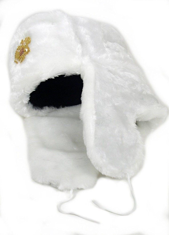 f2f14c73fd6ae Russian Army KGB Cossack Military Fur Hat Ushanka  WH-M  w Imperial ...