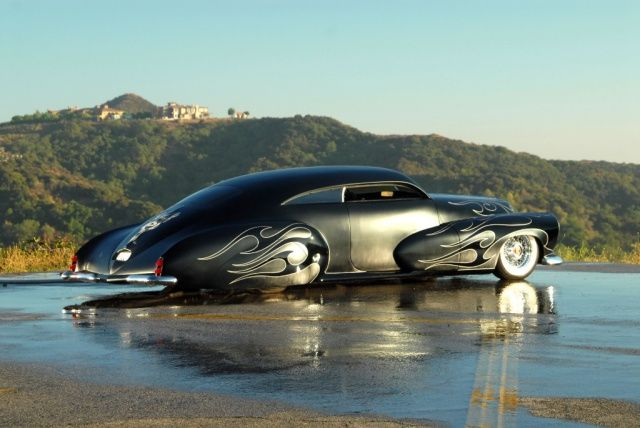 47er Cadillac: Godfather Custom: Außergewöhnlicher Cadillac: 1947er Series 62 Club Coupe//Fotos: Peter Linney - Auto des Monats #sweetcars