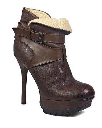 50c0a7ed5de8 Sam Edelman Faux Shearling Platform Booties - Valentina ...