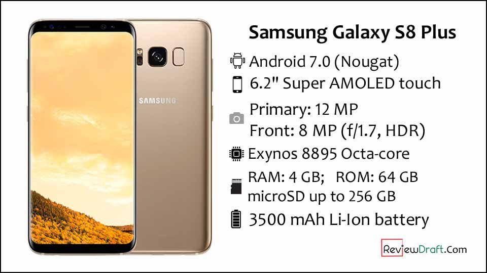 Samsung Galaxy S8 Plus Price In Bangladesh Full Specification Galaxy S8 Samsung Galaxy Samsung