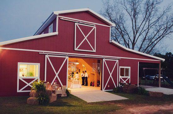 Red Barn Wedding Reception