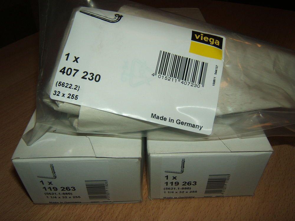 Viega Siphon 1x407230 32x255+2x119263 1 1 4x32x255, neu und - ebay küchen neu