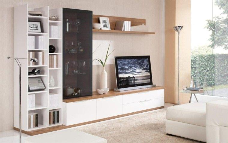 Muebles Para Television Modernos Tv 50 Propuestas Creativas Y Modernas Lujo Cojines