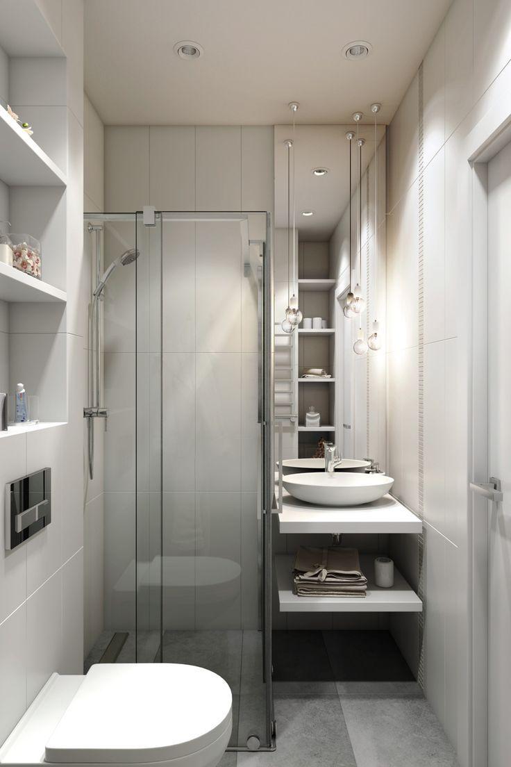 Minimalist Interior Design Bathroom Layout Tiny House Bathroom Small Bathroom