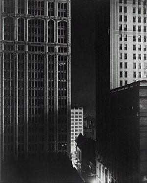 Sunday Night 40th Street by Edward Steichen, 1925