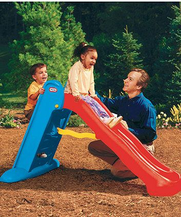 Little Tikes Large Easy Store Slide Swings Slides Climbing