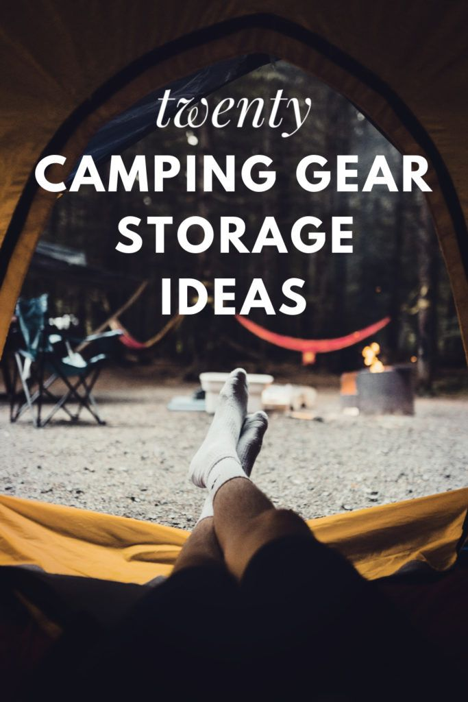 Photo of 20 Camping Gear Storage and Organization Ideas