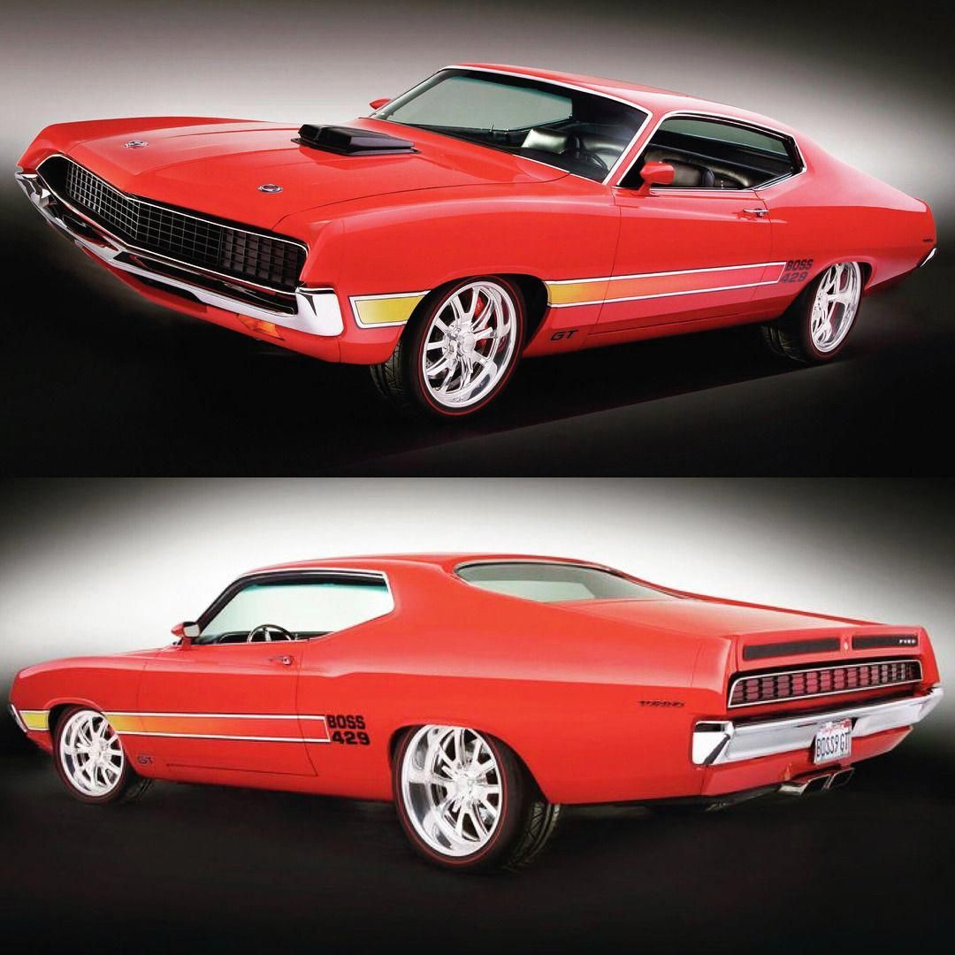 Muscle Cars Forever In 2020 Ford Torino Muscle Cars Classic