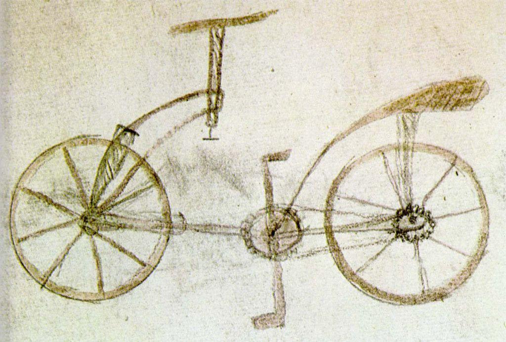 La Bicicleta De Leonardo Da Vinci Inventos De Da Vinci Leonardo Da Vinci Leonardo Da Vinci Renacimiento