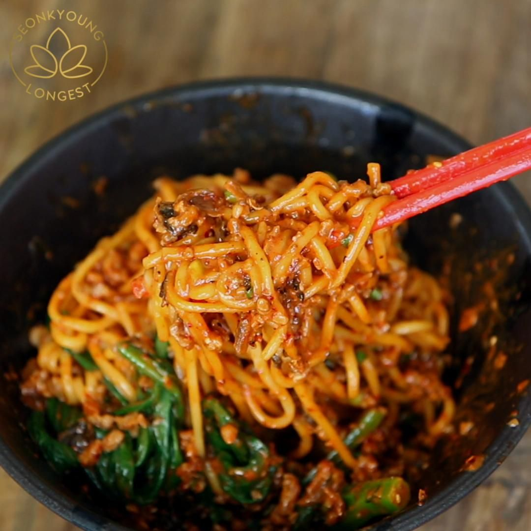 THE BEST DAN DAN MIAN DAN DAN NOODLES RECIPE & VID