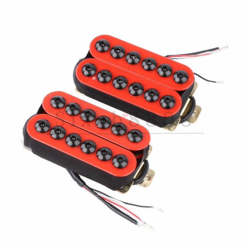 17 99 Aud Invader Style Ceramic Magnet Humbucker Pickups For Electric Guitar Red Ebay Lifestyle Guitar Ebay Ceramics