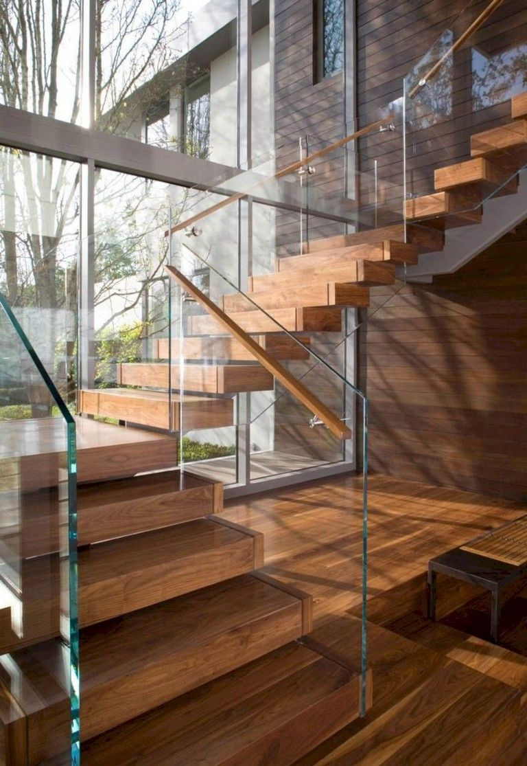 35 Amazing Floating Glass Stairs In My House | Home stairs design, Modern  staircase, Contemporary stairs
