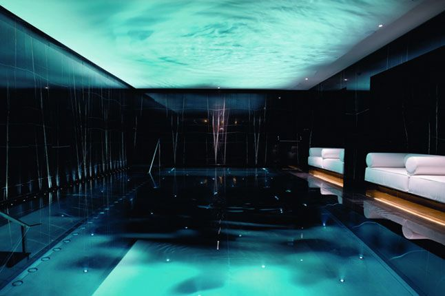 The readers 39 spa awards 2012 the floor swimming and mosaics for Pool design london