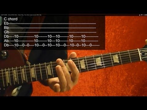 Easy Shine Collective Soul How To Play Free Online Guitar