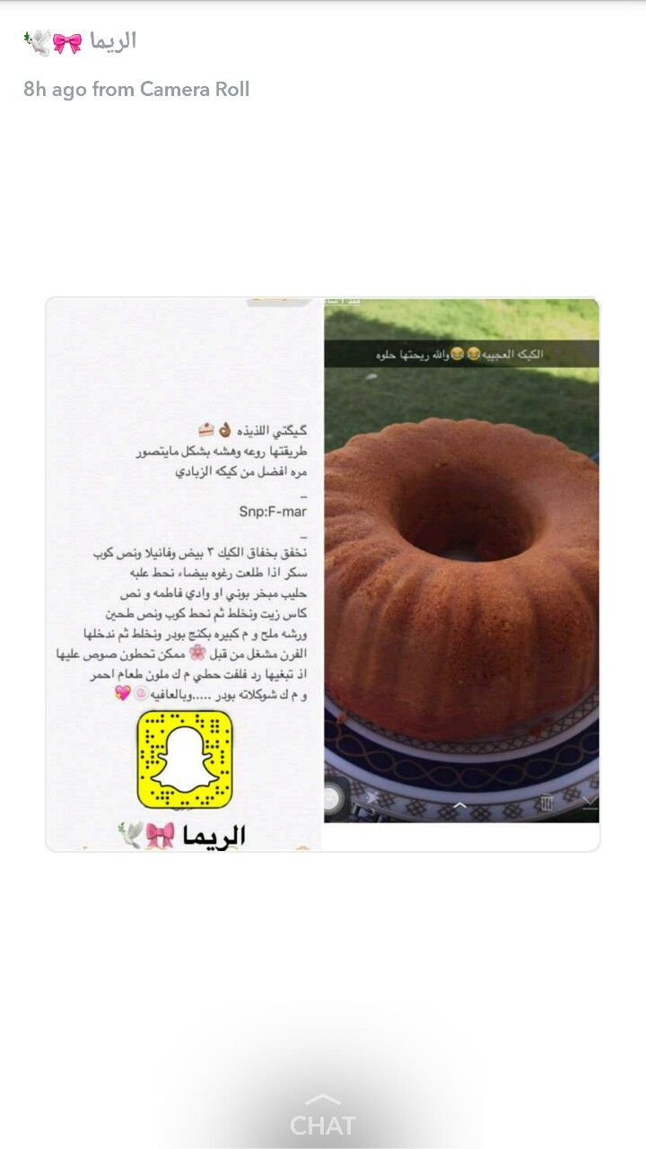 Pin By Nahed On كيك Food Pictures Sweet Recipes Cooking Recipes